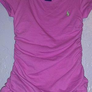 Ralph Lauren Dresses - NWOT Ralph Lauren pink toddler dress size 2T